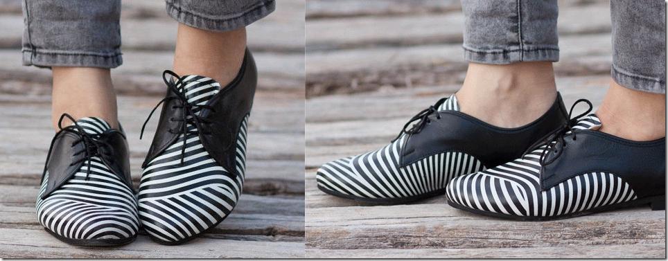 Bạn gái sành điệu với giày Oxford đa phong cách 13