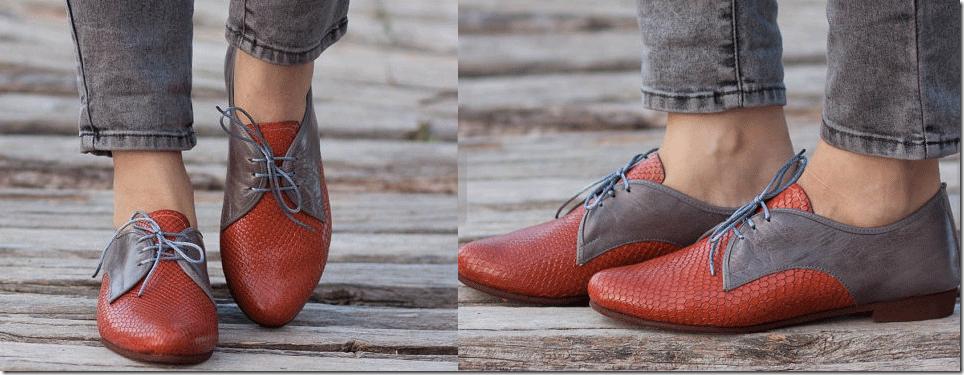 Bạn gái sành điệu với giày Oxford đa phong cách 3