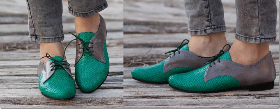 Bạn gái sành điệu với giày Oxford đa phong cách 4