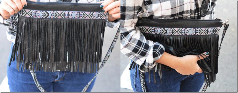 Túi xách tua rua cho bạn gái sành điệu và cá tính 1
