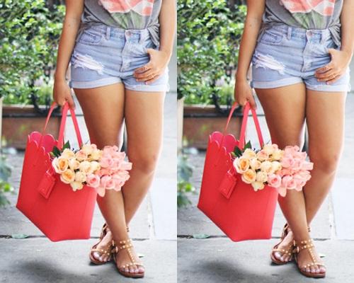 Mách bạn gái 10 mẫu túi xách cho bạn gái đi biển cực sành điệu 5