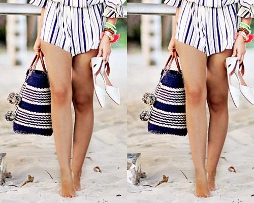 Mách bạn gái 10 mẫu túi xách cho bạn gái đi biển cực sành điệu 6