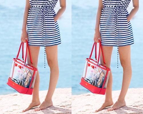 Mách bạn gái 10 mẫu túi xách cho bạn gái đi biển cực sành điệu 9