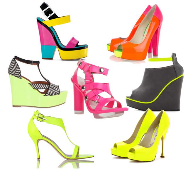 Hè rực rỡ với giày Neon sành điệu 4