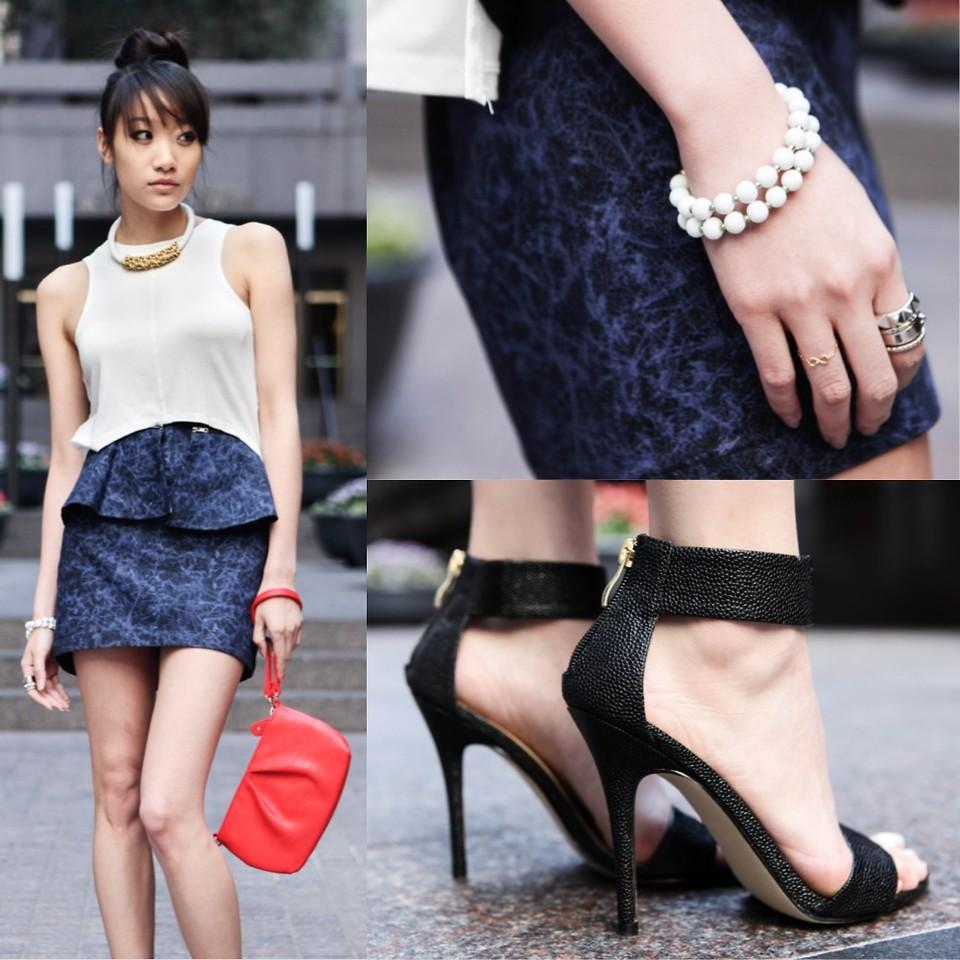 Những mẫu giày Ankle strap đang hot  trong làng thời trang 1