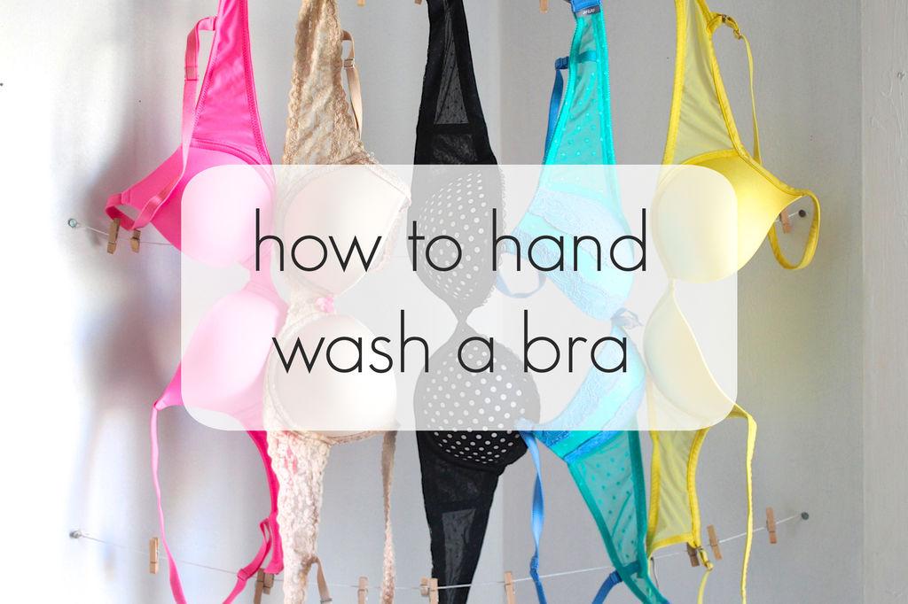 Mách bạn 7 bước đơn giản để giặt áo ngực bằng tay đúng cách