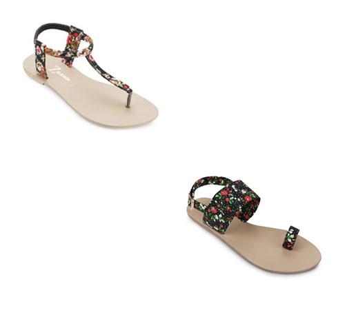 Đón thu lãng mạn với sandal vải 2