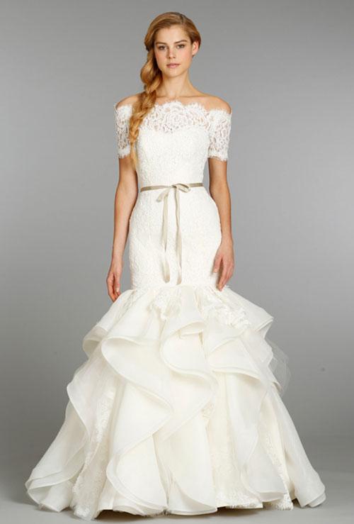 Váy cưới bồng bềnh cho mùa thu 8