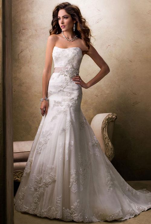 Váy cưới bồng bềnh cho mùa thu 12