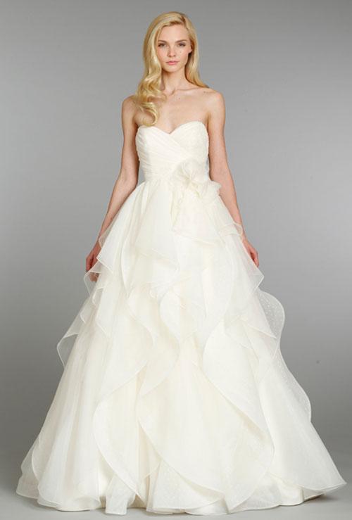 Váy cưới bồng bềnh cho mùa thu 4