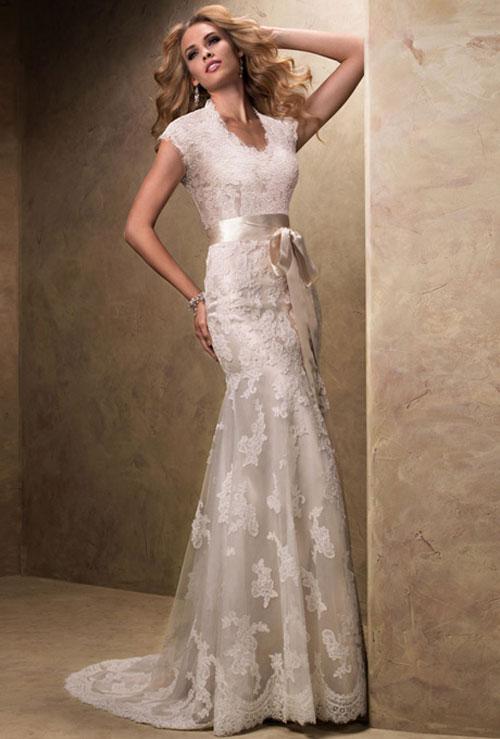 Váy cưới bồng bềnh cho mùa thu 11