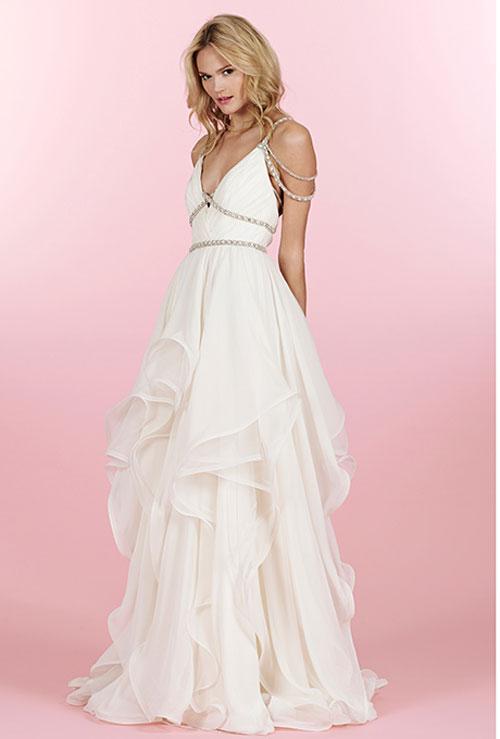 Váy cưới bồng bềnh cho mùa thu 7