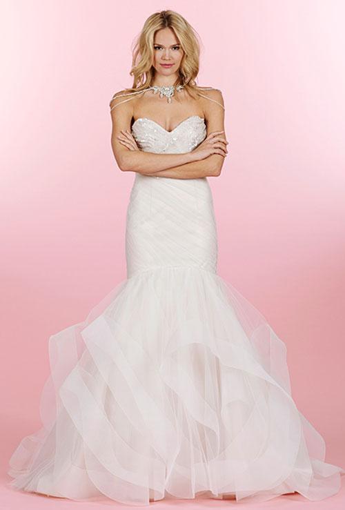 Váy cưới bồng bềnh cho mùa thu 5
