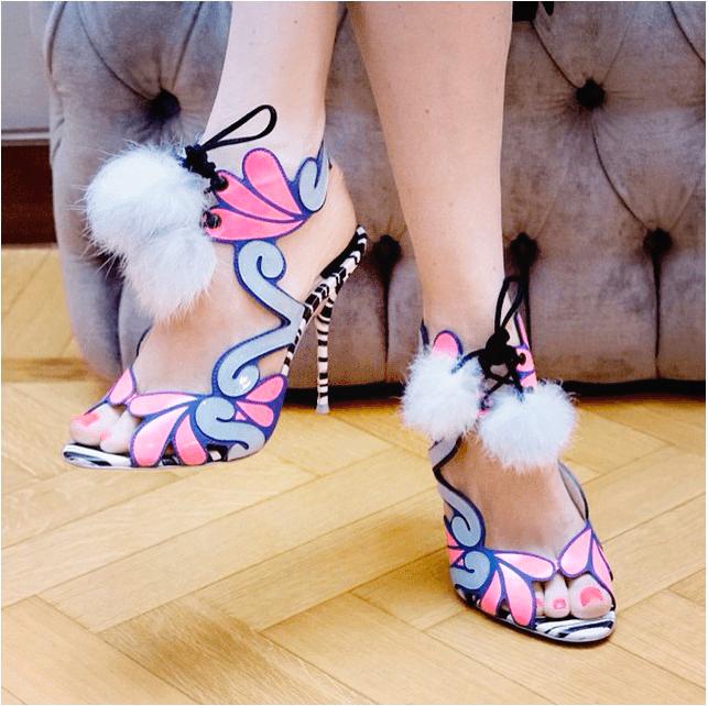 Giày cao gót ngọt ngào lấy cảm hứng từ búp bê barbie 1