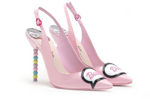 Giày cao gót ngọt ngào lấy cảm hứng từ búp bê barbie 10