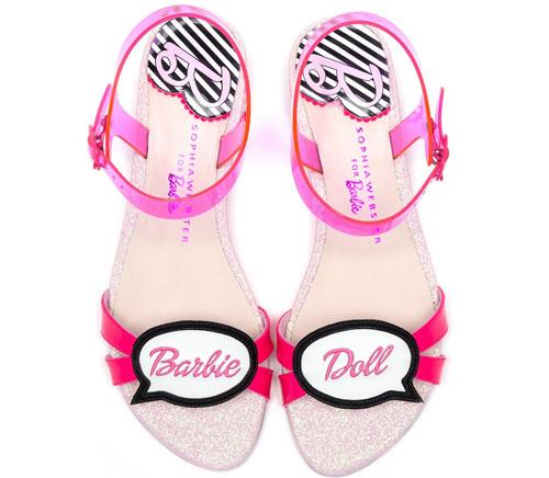 Giày cao gót ngọt ngào lấy cảm hứng từ búp bê barbie 13