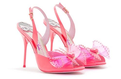 Giày cao gót ngọt ngào lấy cảm hứng từ búp bê barbie 2