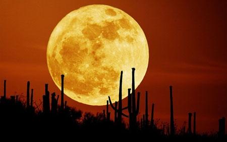 Hiện tượng hiếm có trăng máu và siêu trăng cùng xuất hiện trong tháng 9