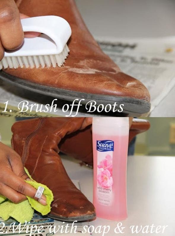 meo bao quan giay dep da nhu moi 67 phunutoday vn - Mẹo hữu ích làm giày dép da bị xước, mốc trông như mới