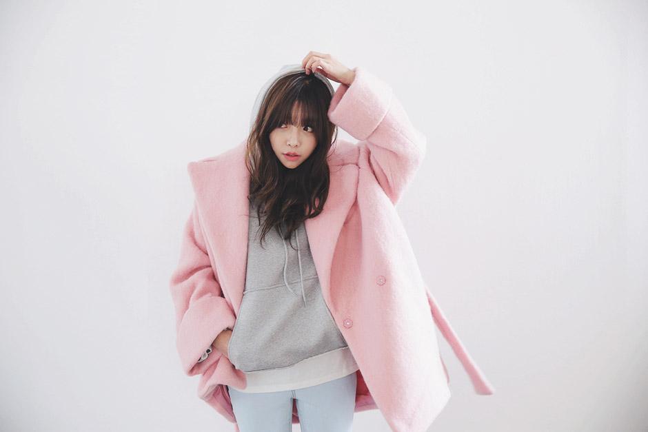 10 mẫu áo khoác thu đông khiến giới trẻ Hàn Quốc mê mẩn