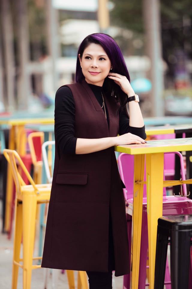 Gu thời trang thu đông trẻ trung và năng động của Thanh Thảo