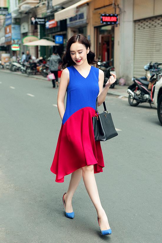 Style cổ điển quyến rũ của Angela Phương Trinh