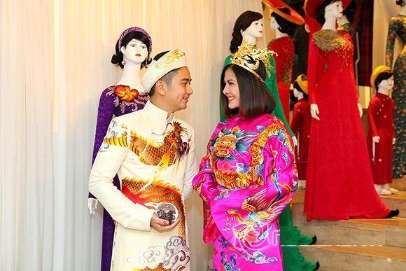 Bộ áo dài cưới cực chất của Vân Trang 3