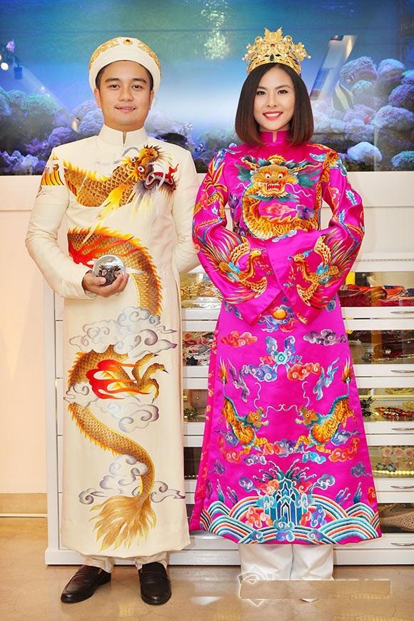 Bộ áo dài cưới cực chất của Vân Trang 4