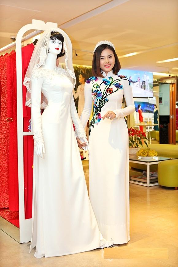 Bộ áo dài cưới cực chất của Vân Trang 8