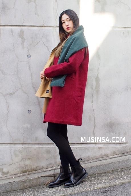 Ngắm phong cách thời trang mùa đông của các nàng xứ Hàn
