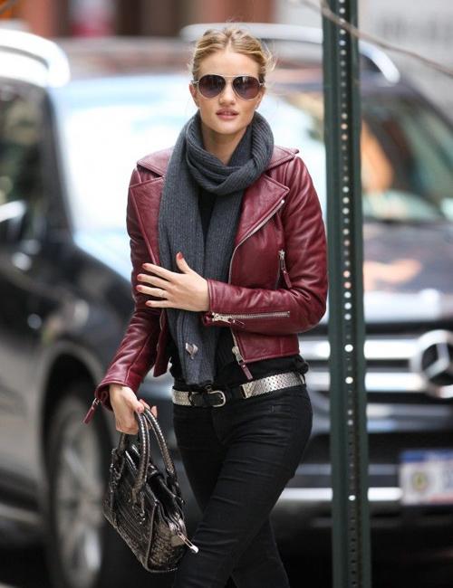 11 ý tưởng phối đồ sành điệu cho cô nàng mê áo khoác da
