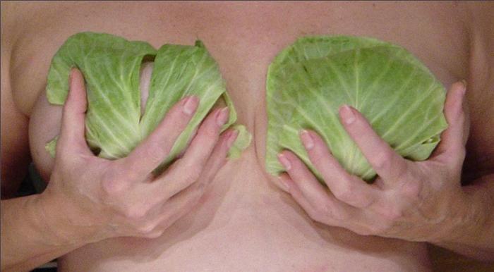 Điều trị căng tức ngực sau sinh bằng lá bắp cải