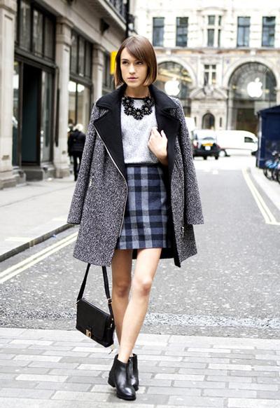 Mặc chân váy gì khi thời tiết trở lạnh? 2