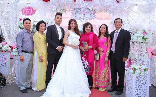 Những hình ảnh đẹp nhất trong đám cưới Á hậu Kha Ly