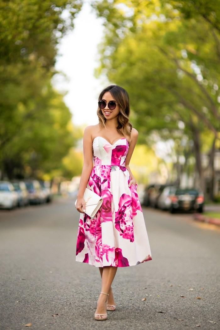 Những mẫu váy hoa tuyệt đẹp mê hoặc mọi cô gái