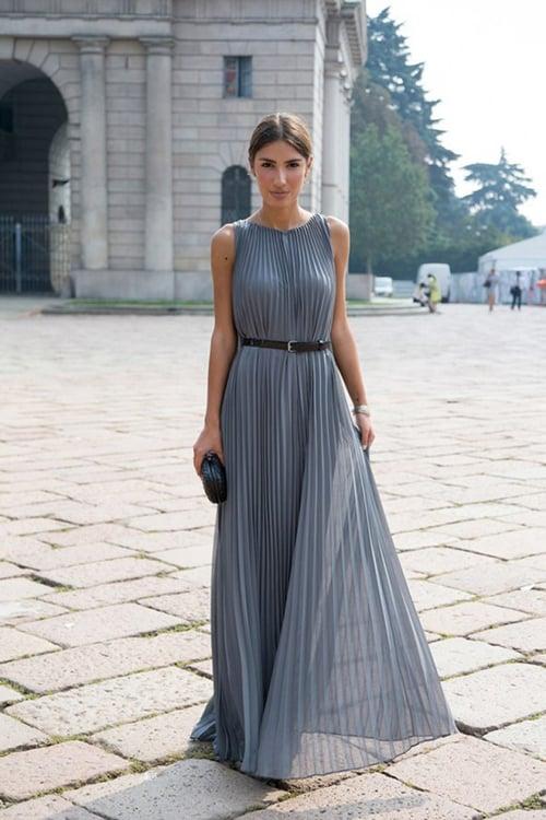 Váy maxi xinh tươi và sang trọng