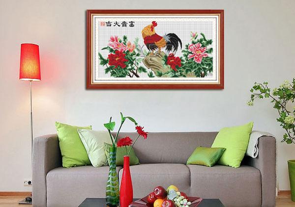 Ý nghĩa một số tranh phong thủy thường treo trong nhà