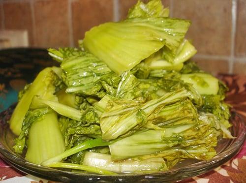 Mẹo hay chọn rau cải muối dưa ngon và giòn 2