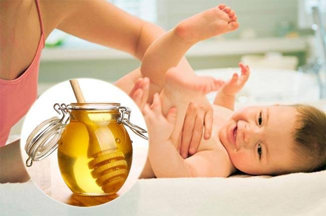 Mật ong giúp con khỏe mạnh hơn mẹ cần biết nhé