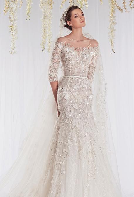 Mùa cưới với mẫu váy cưới 3D đang lộng hành 5