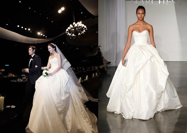 Mùa cưới với mẫu váy cưới 3D đang lộng hành 3