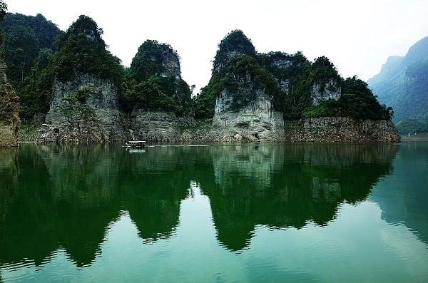Kết quả hình ảnh cho khu du lịch Pắc Ban Tuyên Quang