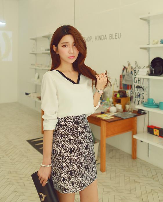 Những mẫu váy mới nhất cho nàng công sở 2016 13