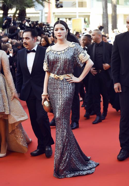 Choáng với hai bộ đầm hàng hiệu của Lý Nhã Kỳ tại Cannes 7