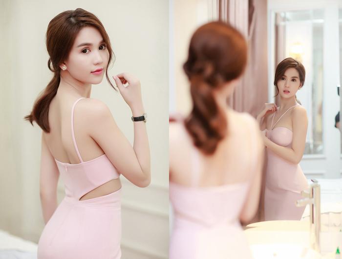 Ngọc Trinh diện hai phong cách thời trang trái ngược ở Bắc Ninh 7