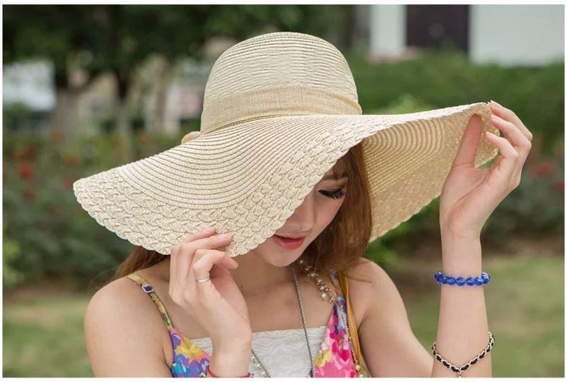 Chị em ăn gian tuổi với mũ cói cực xinh trong hè này 8