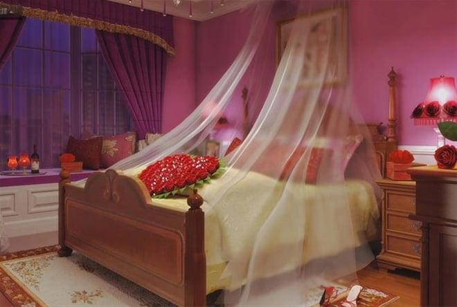 Image result for màu sắc phòng tân hôn