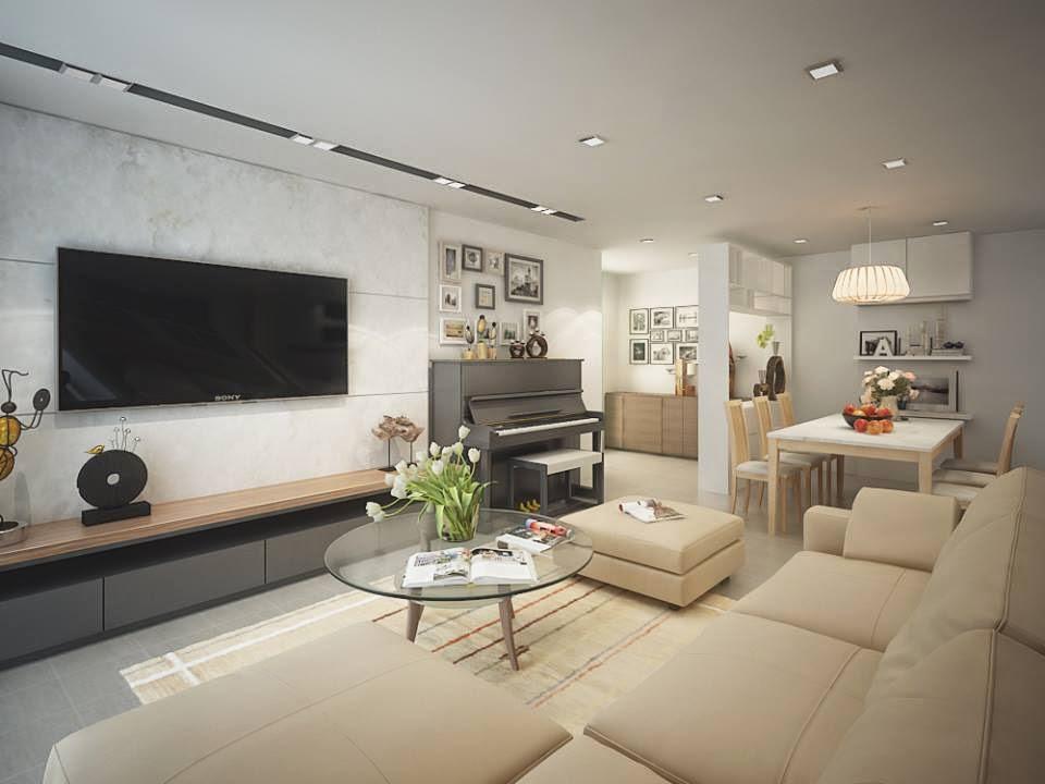 Thiết kế nội thất chung cư siêu đẹp, đa năng giá cực rẻ