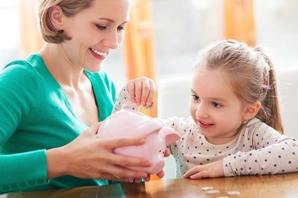 Phương pháp dạy con cách tiêu tiền đúng đắn.