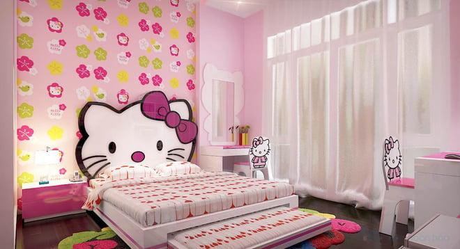 Trang trí phòng ngủ em bé sử dụng decal dán tường